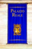 Turin Palazzo Reale Banner Royalty Free Stock Photos