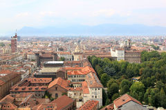 Turin and the Palazzo Reale in Italy Royalty Free Stock Image