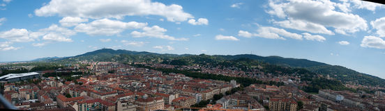 Turin panorama Royaltyfri Fotografi