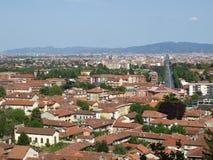 Turin panorama Arkivbilder