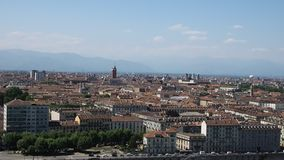 Turin panorama stock video