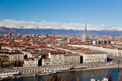 Turin panoramic view Royalty Free Stock Image