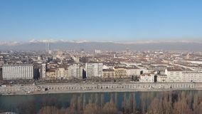 Turin panoramic view stock video