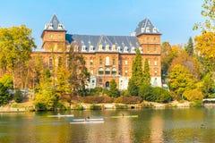 Turin, Piémont, Italie, le 1er novembre 2017 Valentino Castle, Turi Image libre de droits