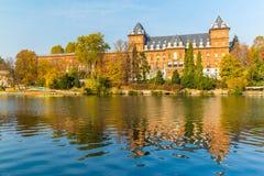 Turin, Piémont, Italie, le 1er novembre 2017 Valentino Castle, Turi Image stock