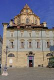 Turin The church of San Lorenzo royalty free stock photography