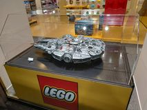 Turin, Piedmont, Italy. November 2018. The Lego shop royalty free stock photo