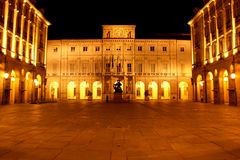 Turin-Rathaus-Gebäude Stockbild