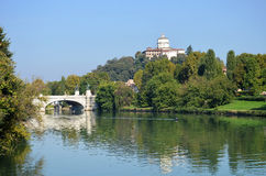Turin river Po Royalty Free Stock Photography