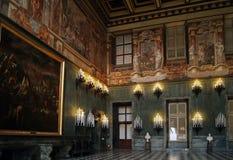 Turin Royal Palace av savojkål Palazzo Reale fotografering för bildbyråer