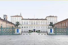 Turin, Royal palace, Italy Stock Photos