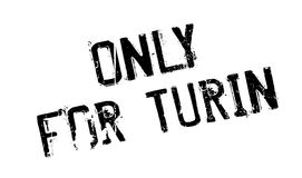 Only For Turin rubber stamp Royalty Free Stock Image