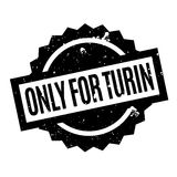 Only For Turin rubber stamp Royalty Free Stock Photo