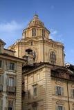 Turin, San Lorenzo Church. Royalty Free Stock Photos