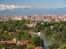 Turin sikt Arkivfoto