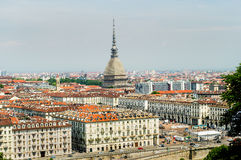 Turin skyline Royalty Free Stock Photo