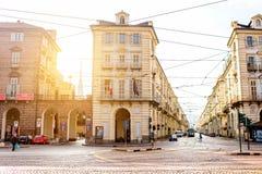 Turin stad i Italien Fotografering för Bildbyråer