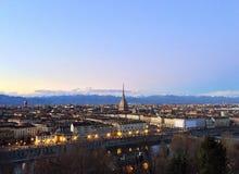 Turin-Stadt Stockfotografie