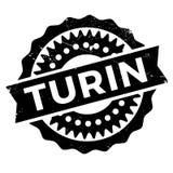 Turin stamp rubber grunge Royalty Free Stock Image