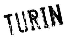 Turin stamp rubber grunge Stock Image