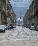 Turin Street Stock Image