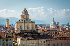 Turin (Torino), Church of San Lorenzo Stock Photo