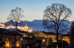 Turin (Torino), Church of Santa Maria al Monte Royalty Free Stock Images