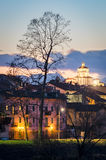 Turin (Torino), Church of Santa Maria al Monte Stock Image