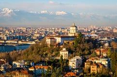 Turin (Torino), Monte dei Cappuccini Royalty Free Stock Image