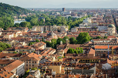 Turin (Torino), panorama Stock Images