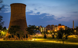 Turin (Torino) Parco Dora Stock Images