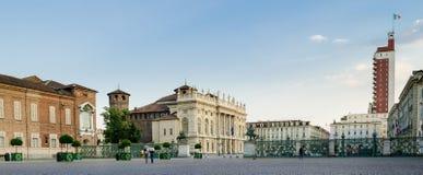 Turin (Torino), Piazza Castello Stock Image