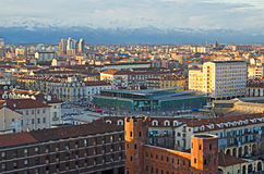 Turin (Torino), Porta Palazzo Lizenzfreie Stockbilder