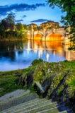Turin (Torino) river Po and Bridge Umberto I Royalty Free Stock Photography