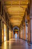 Turin (Torino), typical arcades Stock Photos