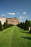 Turin, Venaria Reale, jardin photo stock