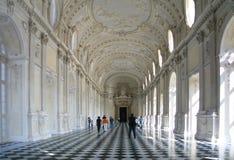 Turin, Venaria Reale, residência do país de Savoiard Foto de Stock