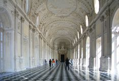 Turin, Venaria Reale, Savoiard country residence Stock Photo