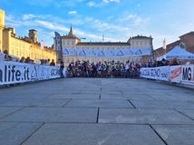 Turin Vertical Bike 2014 Stock Images
