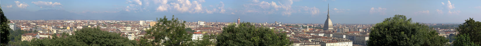 Turin view Stock Images