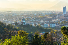 Turin, view from above stock photos
