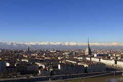 Turin View Stock Image