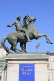 Turino palace warrior statue Stock Photos