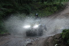 Turism ATV, motoriserade sportar Royaltyfria Foton