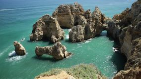 Turism i Algarve arkivfilmer