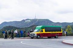 Turism i Förenta staterna - Los Angeles royaltyfria bilder