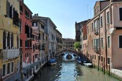 Turism i Venedig Royaltyfria Foton
