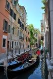 Turism i Venedig Arkivfoto