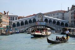 Turism i Venedig Royaltyfri Fotografi