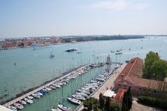 Turism i Venedig Arkivbild